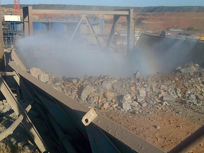 ROM Bin Dust Suppression