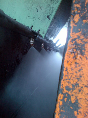 Scalping Screen Dust Suppression