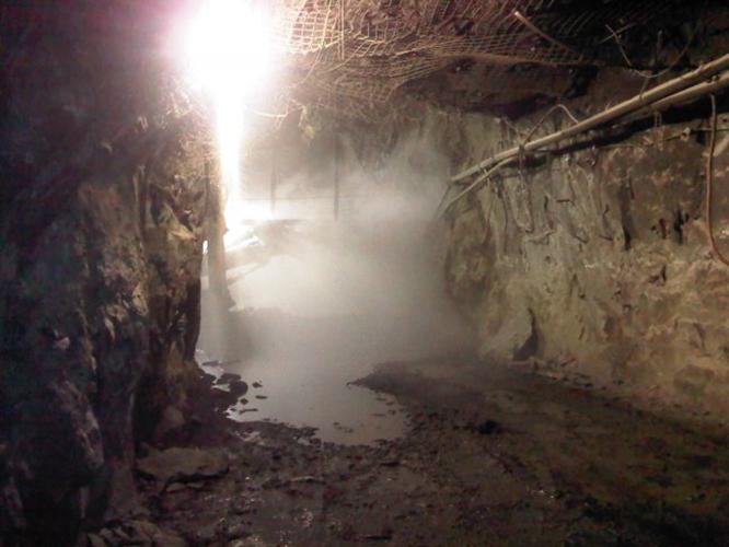 Underground Dust Suppression